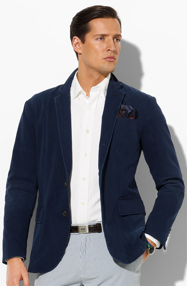 Polo ralph lauren horner sportcoat suitored for Polo shirt with sport coat