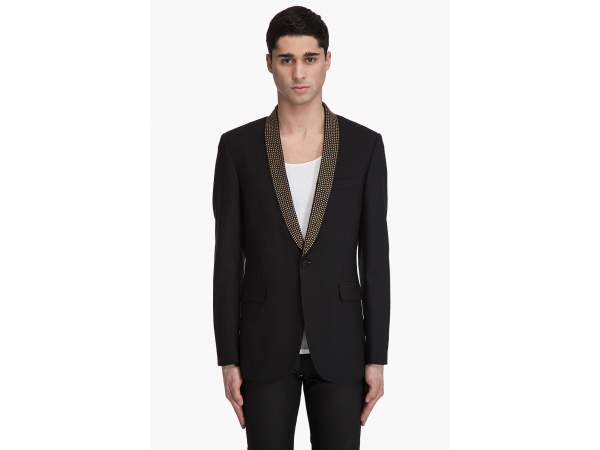 Richmond X Studded Tuxedo Jacket1 Richmond X Studded Tuxedo Jacket