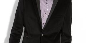 Ted Baker Black Velvet Sportcoat