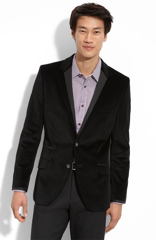 Ted Baker Black Velvet Sportcoat Ted Baker Black Velvet Sportcoat
