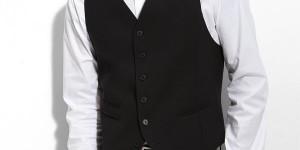 Varvatos Star USA 'red label' 'Serge' Wool Vest