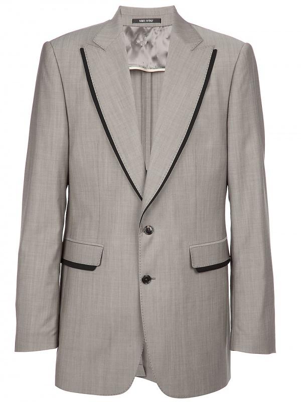 Viktor Rolf Classic Fit Grey Blazer Viktor & Rolf Classic Fit Grey Blazer