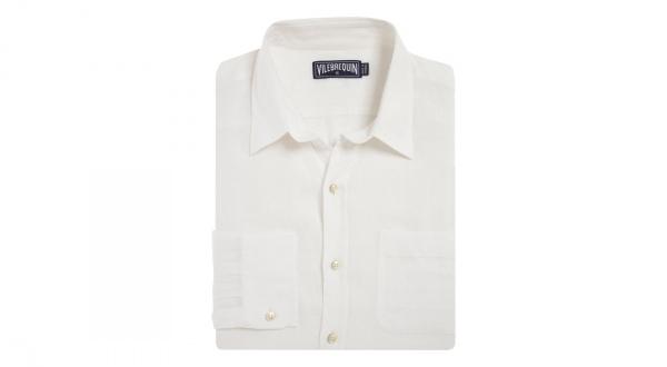 Vilebrequin White Linen Shirt Vilebrequin White Linen Shirt