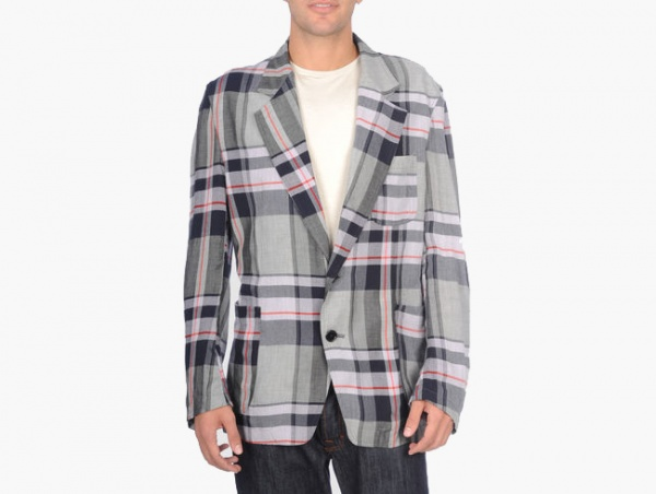 Ys for Men Yohji Yamamoto Plaid Blazer Ys for Men Yohji Yamamoto Plaid Blazer