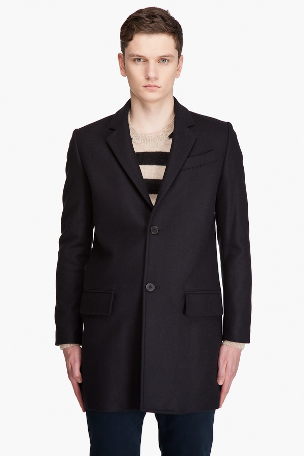 a.p.c. wool peacoat A.P.C. Wool Pea Coat