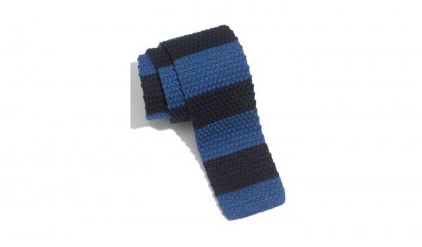 1901 Stripe Skinny Knit Tie 1901 Stripe Skinny Knit Tie