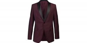Alexander McQueen Burgundy Dinner Jacket 1