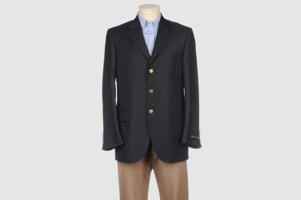 Antonius Three Button Navy Blazer Antonius Three Button Navy Blazer