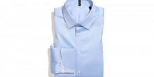 Ben Sherman Blue Tailored Fit Dress Shirt