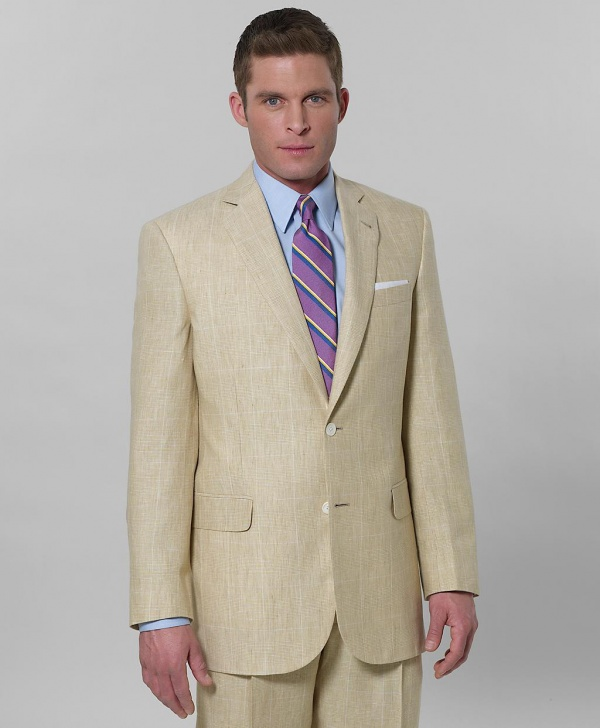 Brooks Brothers Irish Linen Plaid Regent Fit Suit Brooks Brothers Irish Linen Plaid Regent Fit Suit