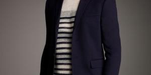Burberry Prorsum Two-Button Jersey Blazer 1
