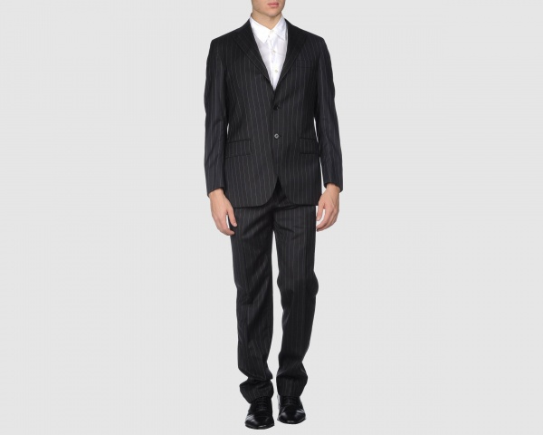 Cantarelli Three Button Pinstripe Suit Cantarelli Three Button Pinstripe Suit
