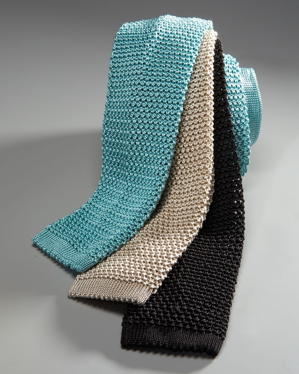 Charvet Silk Knit Tie Charvet Silk Knit Tie