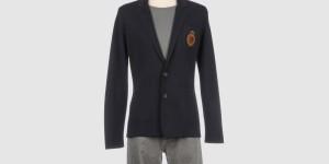 Cruciani Cotton Crest Blazer