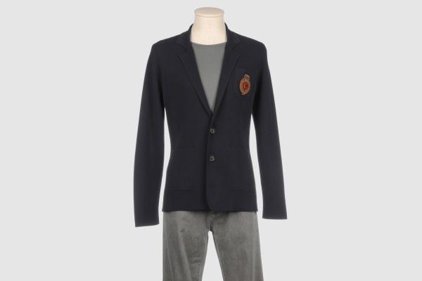 Cruciani Cotton Crest Blazer Cruciani Cotton Crest Blazer