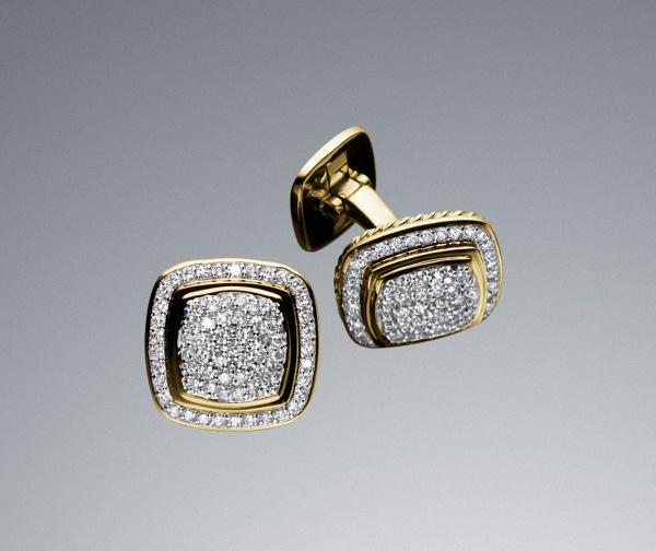 David Yurman Diamond Pave Cufflinks David Yurman Diamond Pave Cufflinks