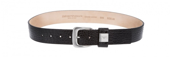 Emporio Armani Crocodile Embossed Belt Emporio Armani Crocodile Embossed Belt
