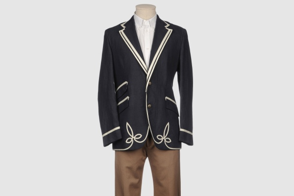 Etro Men Piped Blazer Etro Men Piped Blazer
