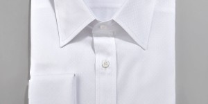 Gucci Solid French-Cuff Dress Shirt