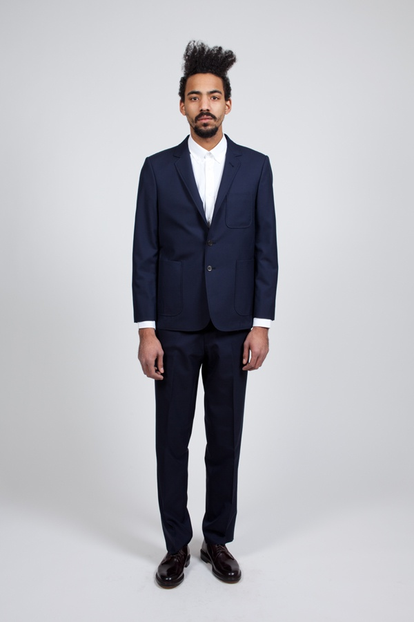 Kitsune Classic Navy Suit | Suitored