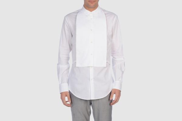 Maison Martin Margiela 10 Bib Front Shirt Maison Martin Margiela 10 Bib Front Shirt