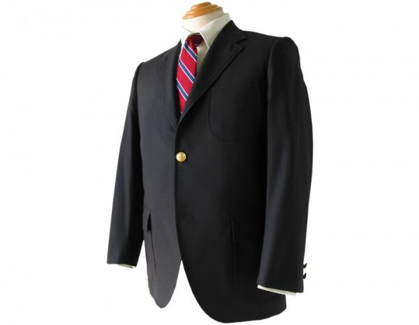 One Button Navy Blazer by Van Jacket Spring Summer 2011 1 One Button Navy Blazer by Van Jacket Spring / Summer 2011