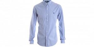 Polo Ralph Lauren Striped Cotton Button Down Shirt 1