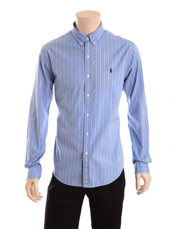 Polo Ralph Lauren Striped Cotton Button Down Shirt Suitored