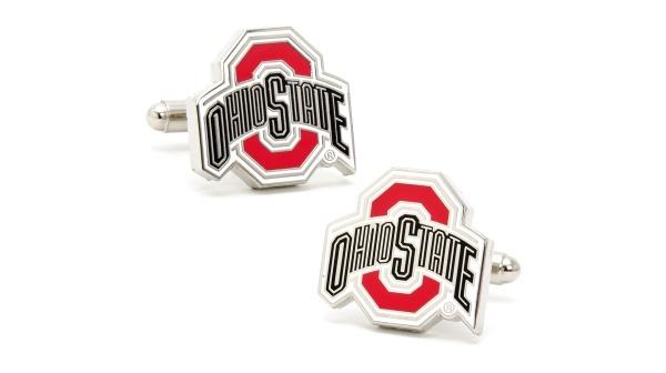 Ravi Ratan Ohio State Buckeyes Cufflinks Ravi Ratan Ohio State Buckeyes Cufflinks