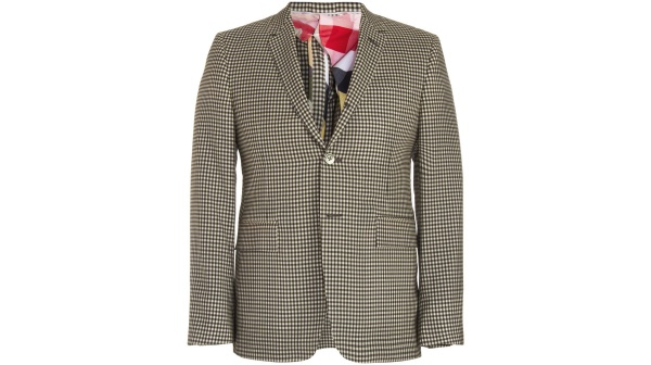 Thom Browne Gingham Sportcoat Thom Browne Gingham Sportcoat