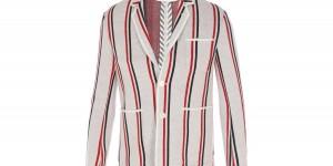 Thom Browne Striped Merino Blazer 1