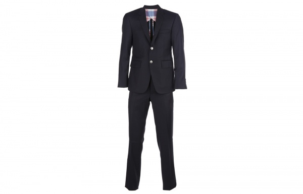 Thom Browne Two Piece Navy Suit 1 Thom Browne Two Piece Navy Suit