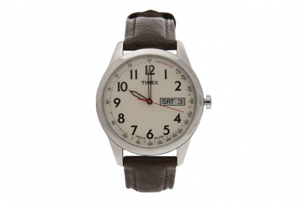 Timex for Club Monaco for Browns Leather Field Watch