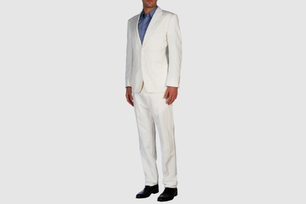 Tom Ford White Cotton Suit Tom Ford White Cotton Suit