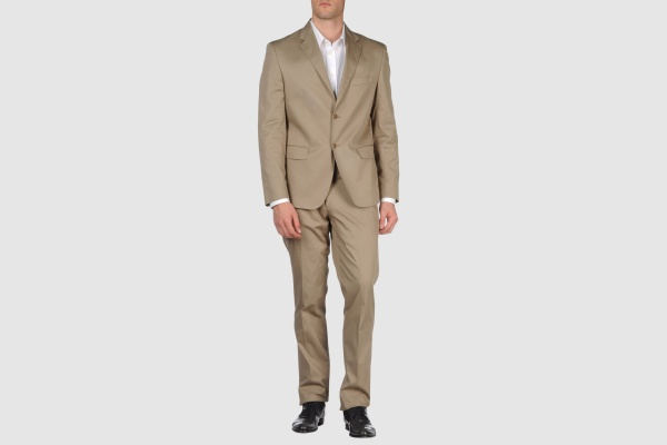 Brian Dales Two Button Camel Suit Brian Dales Two Button Camel Suit