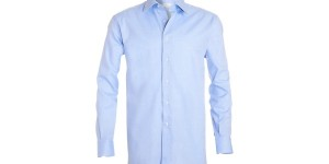 Brioni Yemen Blue Dress Shirt