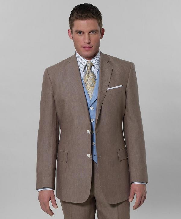 Brooks Brothers Irish Linen Regent Fit Suit in Tan Brooks Brothers Irish Linen Regent Fit Suit in Tan