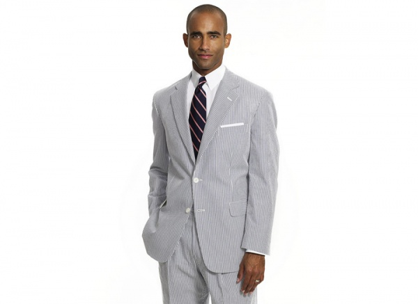 Brooks Brothers Seersucker Madison Fit Suit Brooks Brothers Seersucker Madison Fit Suit