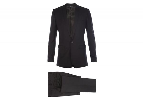 Dolce Gabanna Short Peaked Lapel Suit 1 Dolce & Gabanna Short Peaked Lapel Suit