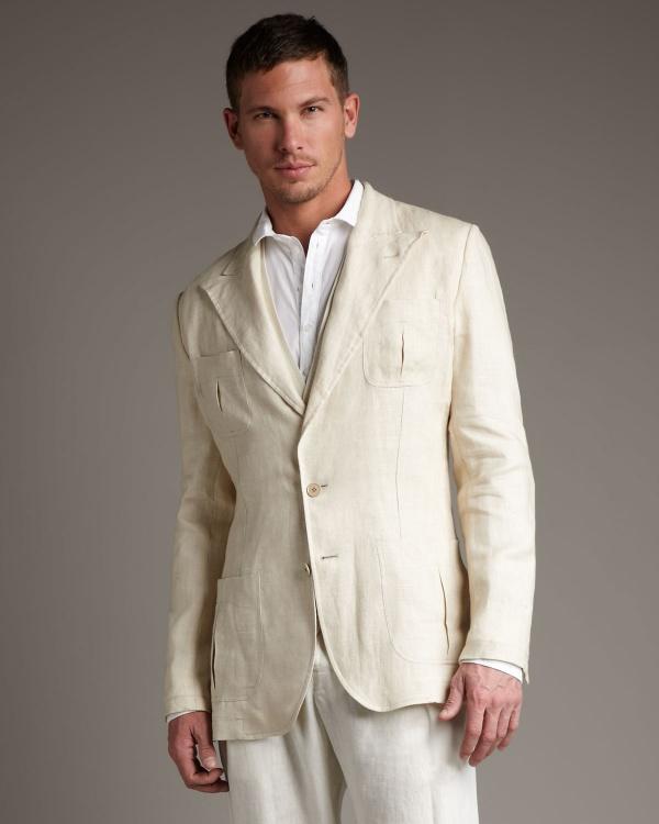 Dolce Gabbana Linen Hemp Summer Suit 1 Dolce & Gabbana Linen & Hemp Summer Suit