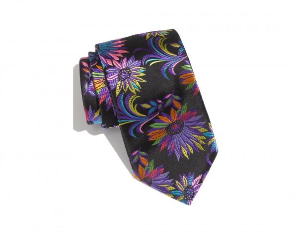 Duchamp Fleuri Woven Silk Tie Duchamp 'Fleuri' Woven Silk Tie