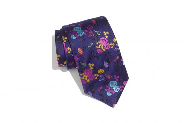 Duchamp Orchard Garden Woven Silk Tie Duchamp Orchard Garden Woven Silk Tie