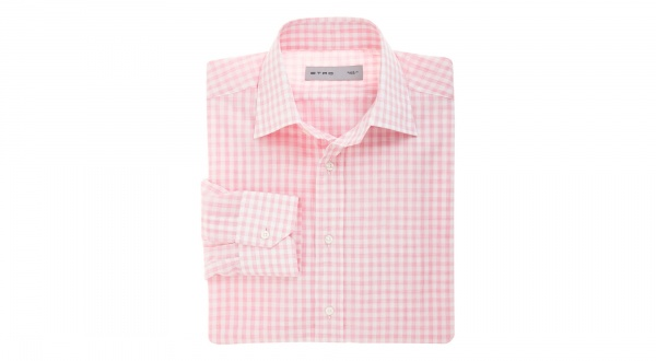 Etro Pink Gingham Shirt Etro Pink Gingham Shirt