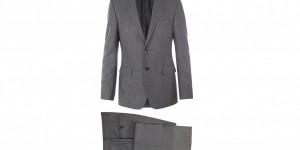 Gucci Vintage Grey Wool Suit 1