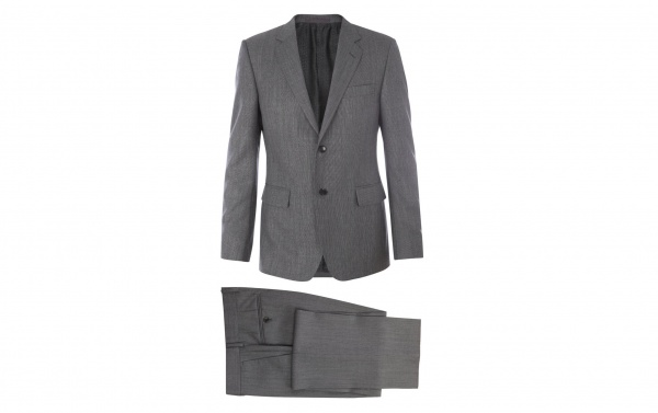 Gucci Vintage Grey Wool Suit 1 Gucci Vintage Grey Wool Suit