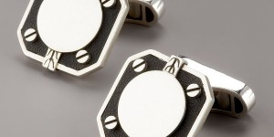 John Hardy Dot Deco Square Cufflinks