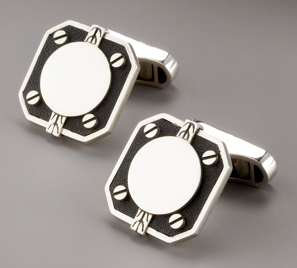 John Hardy Dot Deco Square Cufflinks John Hardy Dot Deco Square Cufflinks