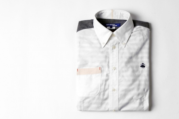 Junya Watanabe COMME des GARCONS MAN x Brooks Brothers Button Down Shirt 1 Junya Watanabe COMME des GARCONS MAN x Brooks Brothers Button Down Shirt