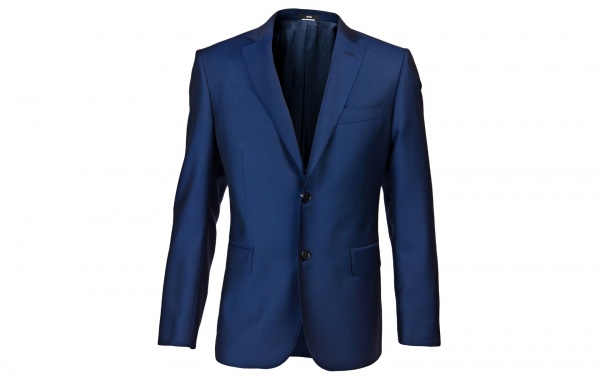 Moschino Blue Two Piece Suit 1 Moschino Blue Two Piece Suit