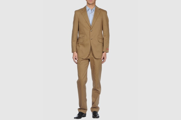 Pal Zileri Concept Cotton Camel Suit Pal Zileri Concept Cotton Camel Suit